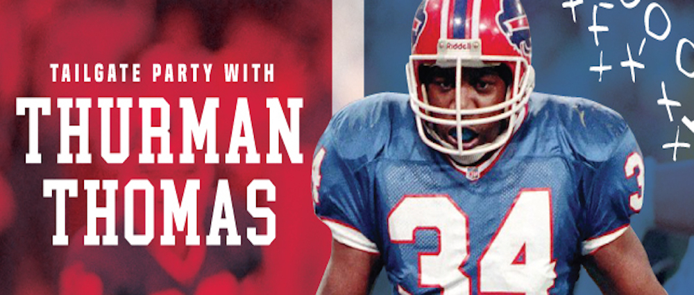 Embassy Suites by Hilton Niagara Falls - Fallsview Hotel, Canada - A Tailgate Party with Thurman Thomas Package