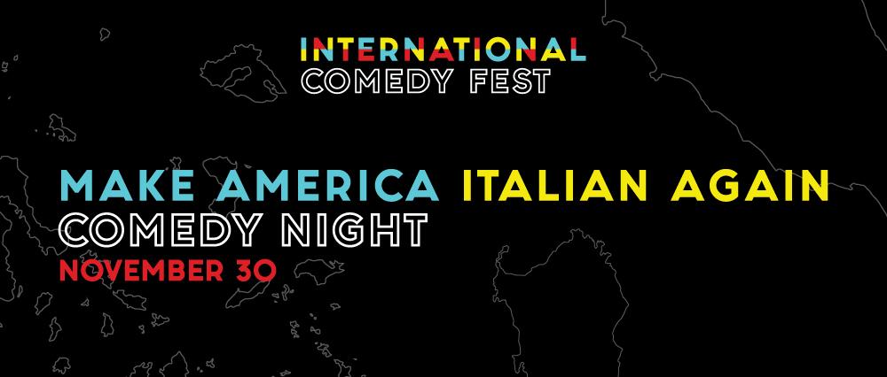 Embassy Suites by Hilton Niagara Falls - Fallsview Hotel, Canada - Make America Italian Again Comedy Night
