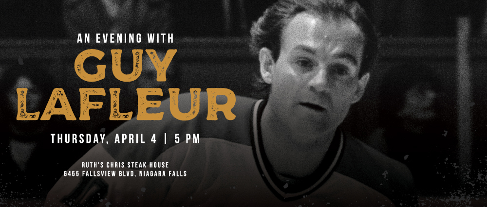 Embassy Suites by Hilton Niagara Falls - Fallsview Hotel, Canada - Evening with Guy Lafleur
