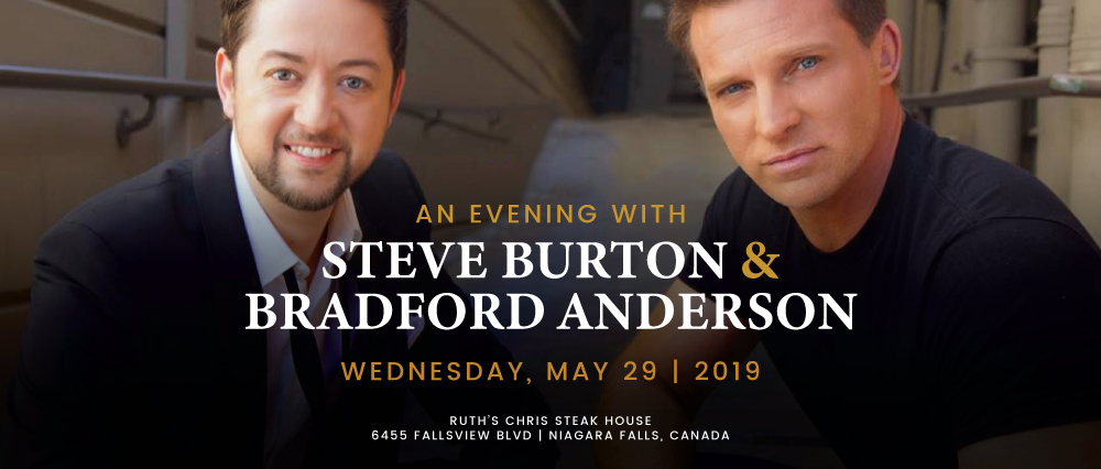 Embassy Suites by Hilton Niagara Falls - Fallsview Hotel, Canada - Evening with Steve Burton & Bradford Anderson