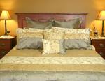 Luxurious pillow top bed