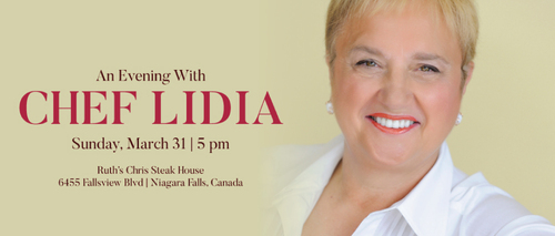 Embassy Suites by Hilton Niagara Falls - Fallsview Hotel, Canada - Evening with Chef Lidia