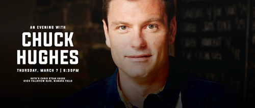 Embassy Suites by Hilton Niagara Falls - Fallsview Hotel, Canada - Evening with Chuck Hughes
