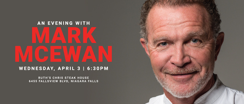 Embassy Suites by Hilton Niagara Falls - Fallsview Hotel, Canada - Evening with Mark McEwan