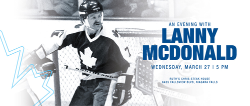 Embassy Suites by Hilton Niagara Falls - Fallsview Hotel, Canada - Evening with Lanny McDonald