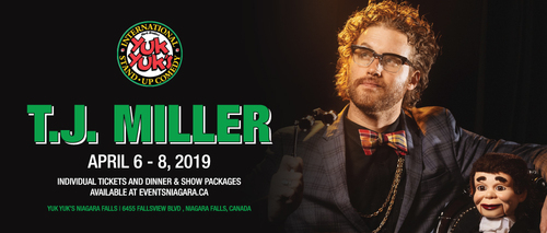 Embassy Suites by Hilton Niagara Falls - Fallsview Hotel, Canada - T.J.  Miller Comedy Nights
