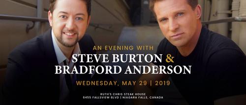Embassy Suites by Hilton Niagara Falls - Fallsview Hotel, Canada - Evening with Steve Burton & Bradford Anderson