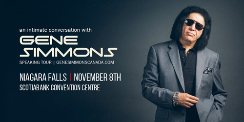 Embassy Suites by Hilton Niagara Falls - Fallsview Hotel, Canada - An Intimate Conversation with Gene Simmons