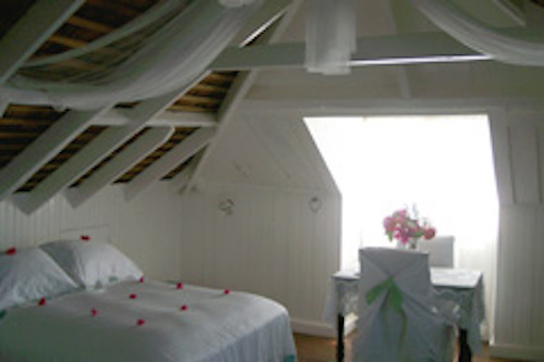 Pimento Room, also known as the Honeymoon Suite:(Pimento, Spice of Jamaica) - Liberty Hill Great House